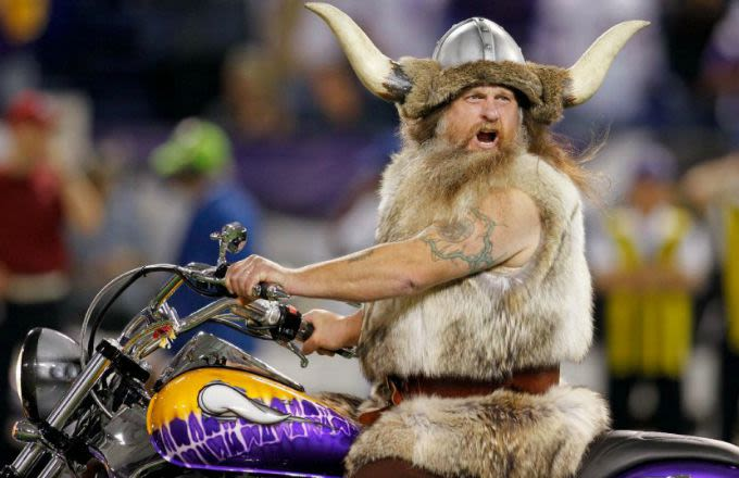 Vikings Mascot Is Out of a Job After Demanding to Be Paid $20,000 Per Game This Season