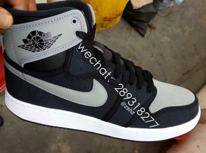 "super popular a1d59 6109c Color  White Blue-Yellow-Gum Style Code  N A Price   TBA Air Jordan 1 KO  ""Shadow"""