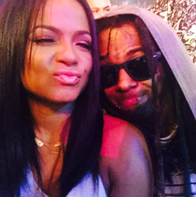 Christina milian got a tattoo dedicated to lil wayne complex
