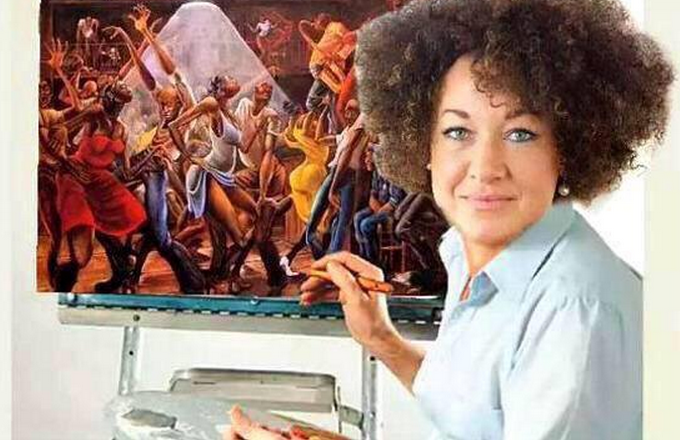 Rachel Dolezal Plagiarized a Painting Called 'The Slave Ship'