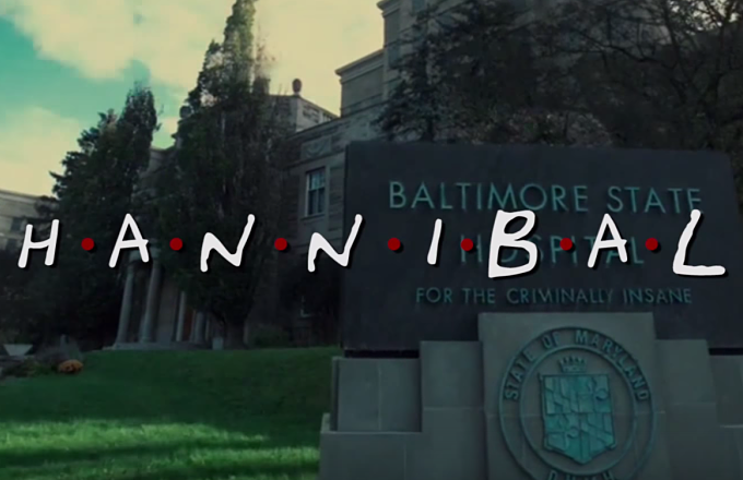 This Video Reimagining 'Hannibal' as a Slightly More Cannibalistic 'Friends' Is Hilarious