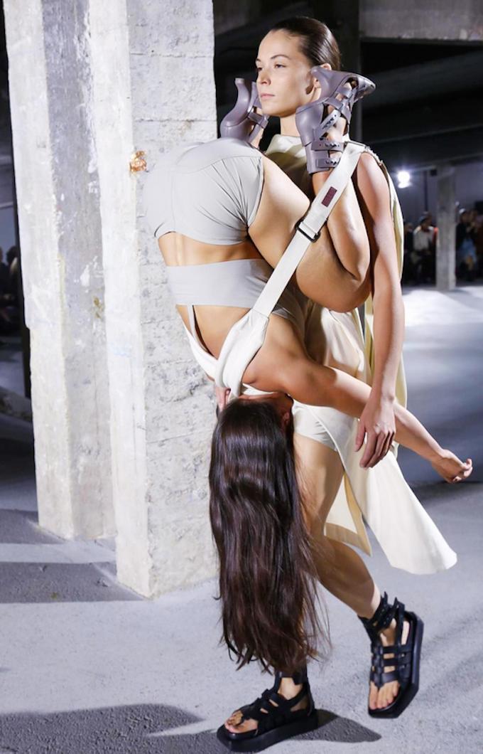 Fashion Show Carrying Humans