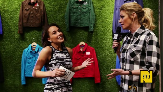 Erin Andrews on Athleisure, Ryan Seacrest, and Crying at the Super Bowl