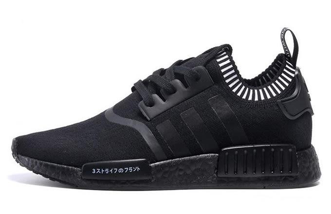 adidas nmd primeknit black