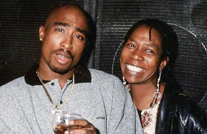 left eye and tupac relationship with his mother
