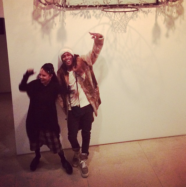 A$AP Rocky and Rick Owens' Wife Hung Out Last Night in NYC ...