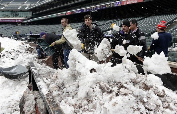 The Owner of the Colorado Rockies Helped Shovel Snow to ...