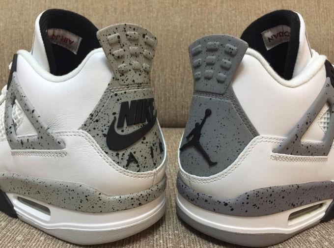 Jordan Retro 4 Cement 2016