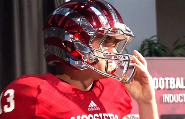 Indiana football players had a priceless reaction to their new candy