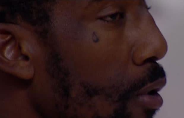 Amar 39 e stoudemire got a teardrop tattoo to honor his for What does a teardrop tattoo signify