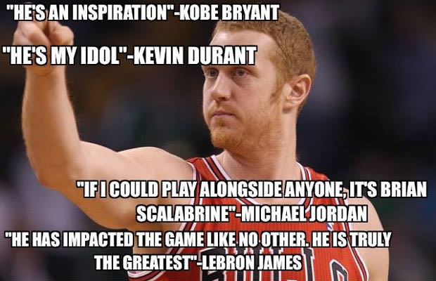 Funniest Sports Memes Of The Week : Brian scalabrine gallery the funniest sports memes of