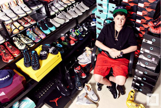 Kids Sells Shoe To Dj Kaled