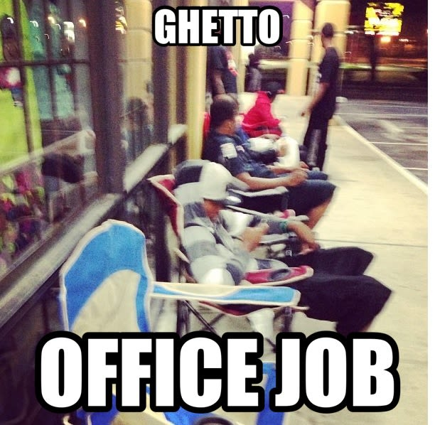 ghetto office job   the best sneaker memes this week complex