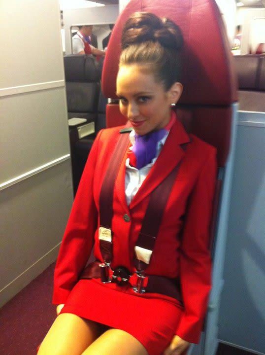 частные фото стюардесс
