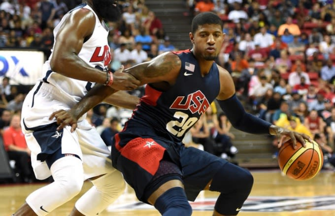 Discount Code For Paul George 2016 - Sports 2014 08 Paul George Promised Spot On 2016 Usa Olympic Team