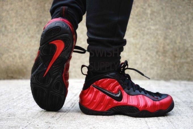 Nike Foamposite Pro Red