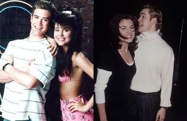 Mark Paul Gosselaar And Tiffani Amber Thiessen Dated Years dated in real life