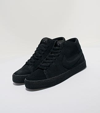 nike blazer all black