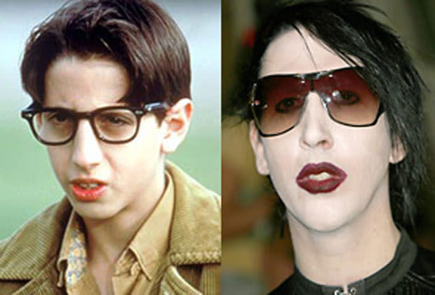 marilyn manson and paul from the wonder years are the same. Black Bedroom Furniture Sets. Home Design Ideas