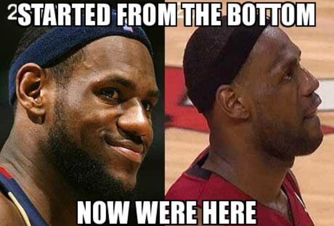 Inspired by Drake - The 50 Meanest LeBron James Hairline Memes of All Time | Complex