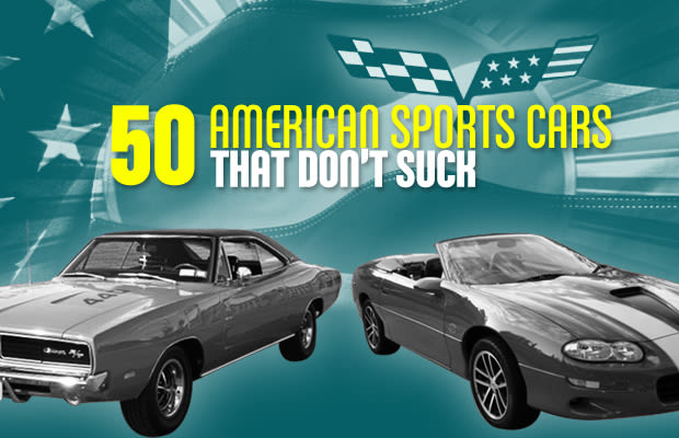 50 American Sports Cars That Don't Suck