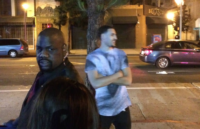 Does Klay Thompson Have to Wait in Line at the Club Like the Rest of Us?