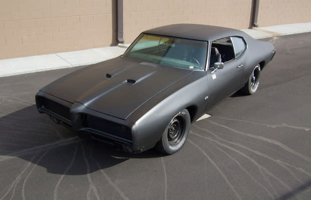 Pontiac Gto Murdered Out 50 Menacing Matte Black Cars
