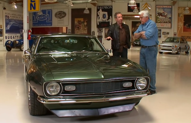 tim allen rolls into jay leno 39 s garage with his incredible. Black Bedroom Furniture Sets. Home Design Ideas