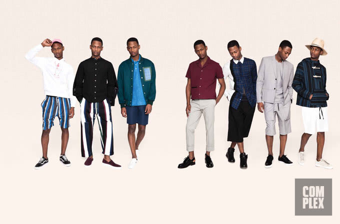 Fresh Crops: How to Wear Shorts and Ankle-Bearing Pants In the Summer Heat