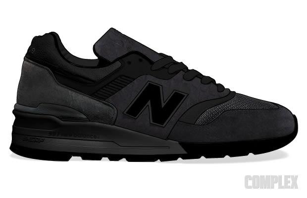 new balance black sneaker