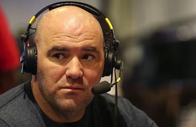 Dana White Reveals He Was