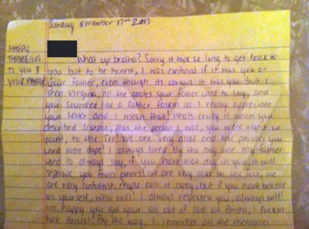 Aaron Hernandez Tells A Fan To Kill Herself In Chilling Prison