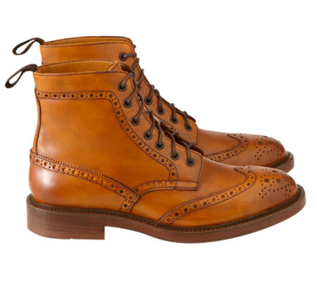 Mr. B's Has The Most Affordable Wingtip Brogue Boot For
