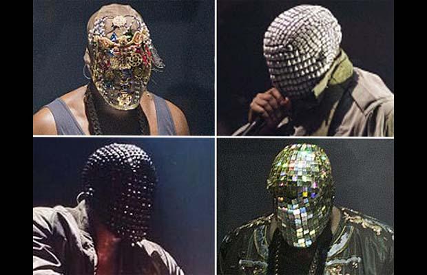 kanye west kicks off yeezus tour with four masks complex