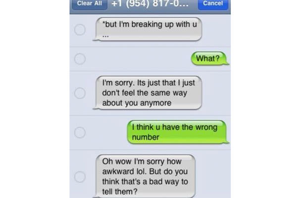 The Sorry Wrong Person Text