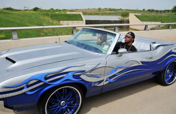 Lil Boosie 30 Photos Of Rappers Flexing With Giant Car