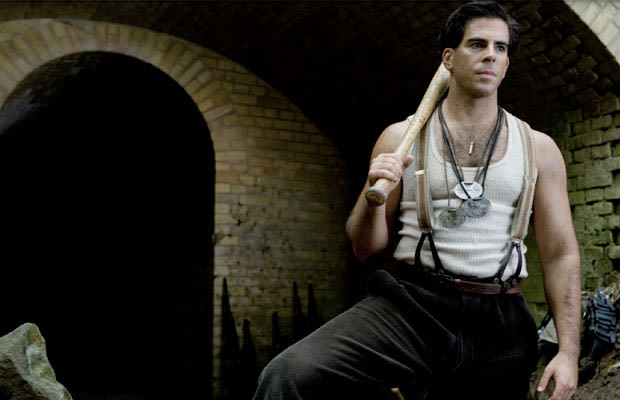 eli roth as sgt donny quotthe bear jewquot donowitz in