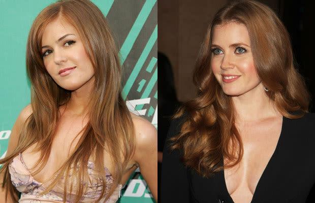 Isla Fisher and Amy Adams - 15 Hot Celebrity Doppelgangers ...