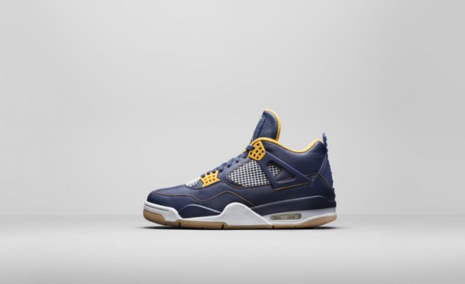 "new concept e9993 c1bdc Color  Midnight Navy Varsity Maize-White-Metallic Gold Style Code   308497-425. Price   190. Air Jordan XII ""French Blue"""