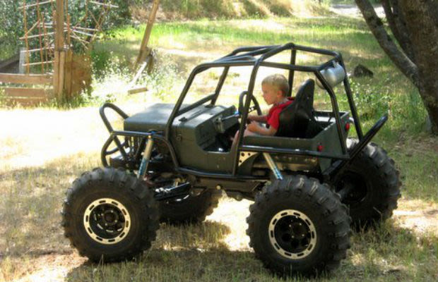 The Jeep Mower The Most Ridiculous Custom Lawn Mowers