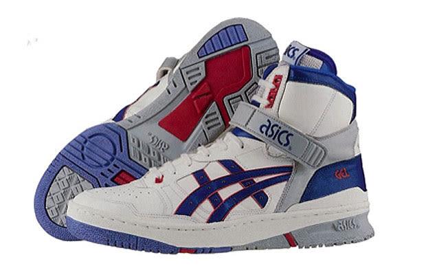 Vintage Asics Basketball Shoes