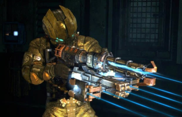 Dead Space 3 Rifle Blueprint or Made Up: ...