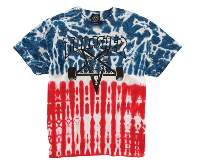 Thrasher t Shirt Tie Dye Thrasher The Best Tie Dye