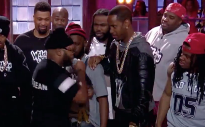 Safaree Appeared on 'Wild 'N Out' and Was Quickly Destroyed With Nicki Minaj and Meek Mill Jokes
