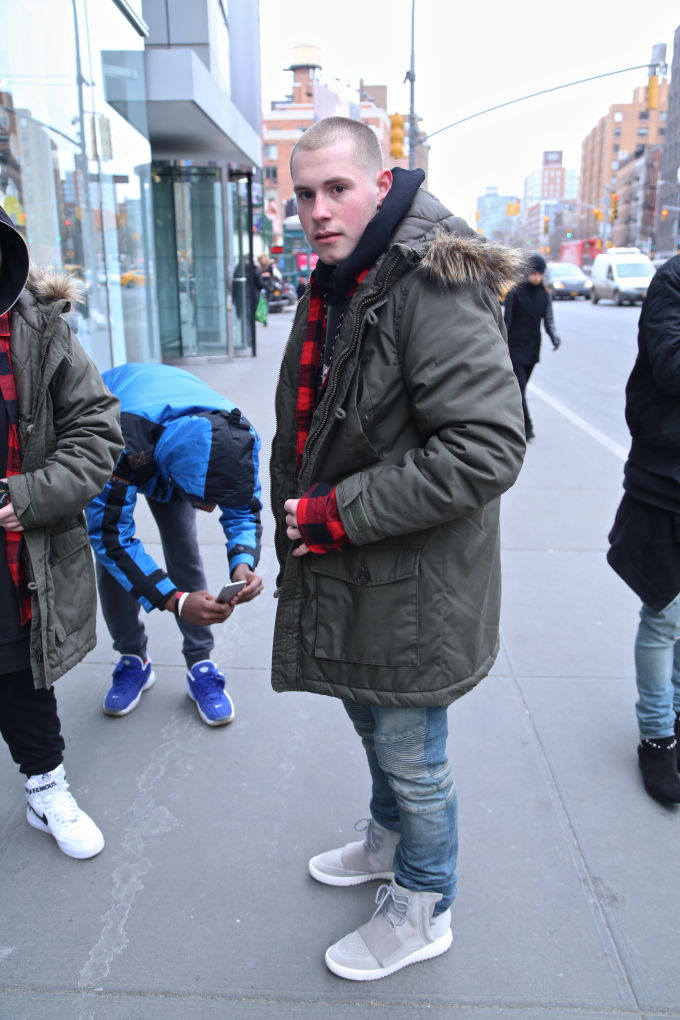 yeezy-boost-street-style-9 - Street Style at the Kanye ... Kanye West
