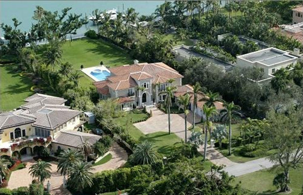 Jay-Z mansion in  Indian Creek Village, Florida