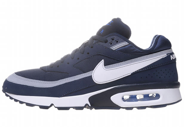 nike air max classic bw obsidian white wolf grey complex. Black Bedroom Furniture Sets. Home Design Ideas