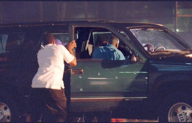 Crime Scene Photos Of Tupac Shakur After biggie's murder,