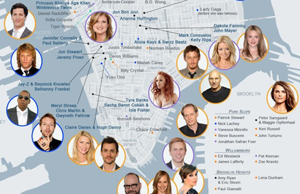 Find Celebrity and Star Homes - John's Star Maps