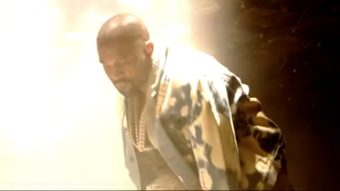 A Fan Just Interrupted Kanye West's Show at Glastonbury